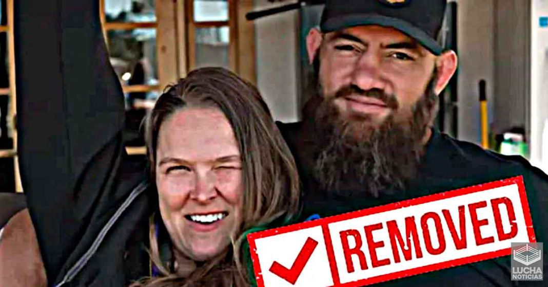 Ronda Rouse elimina el video donde anuncia su embarazo
