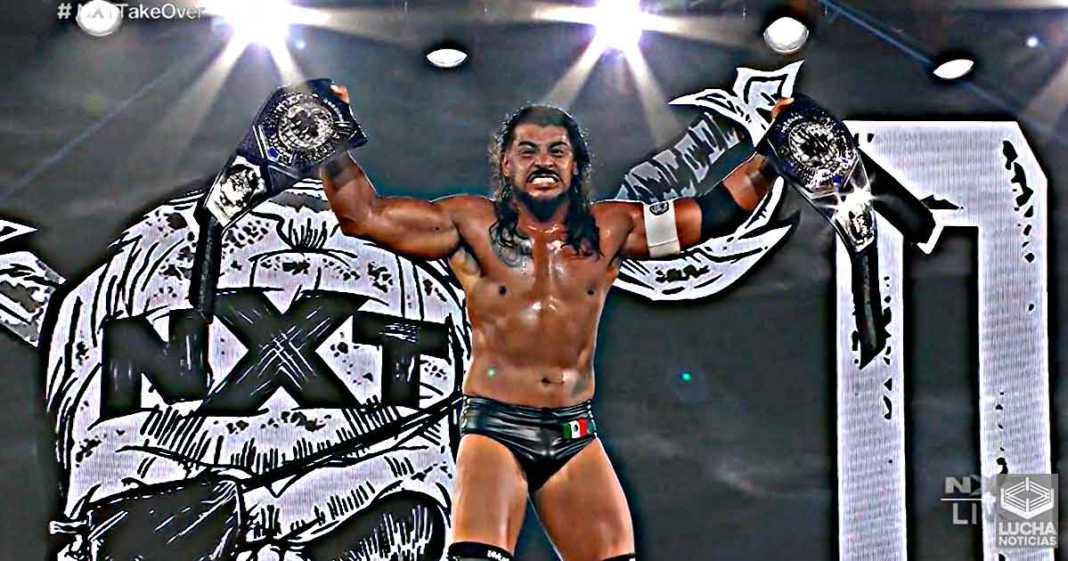 Santos Escobar vence a Jordan Devlin y es el campeón crucero de NXT