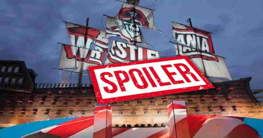 Se revela gran spoiler de un plan para WrestleMania 37
