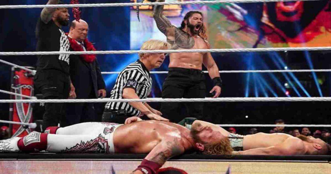 Se revela lo que hizo que la triple amenaza en WrestleMania 37 fuera tan único