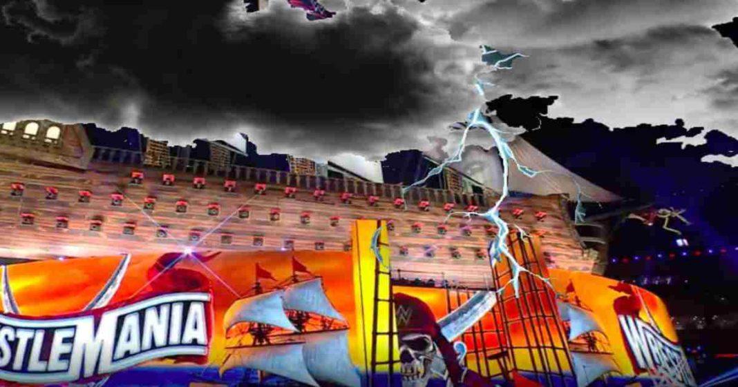 Se tendrá más problemas para WrestleMania 37 por el terrible clima