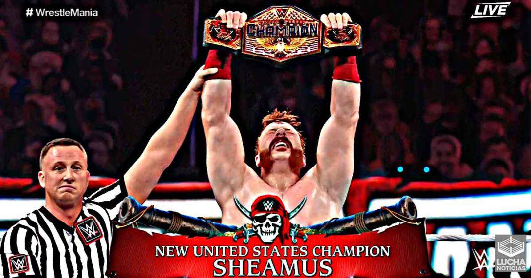 Sheamus es el nuevo campeón de los Estados Unidos de la WWE
