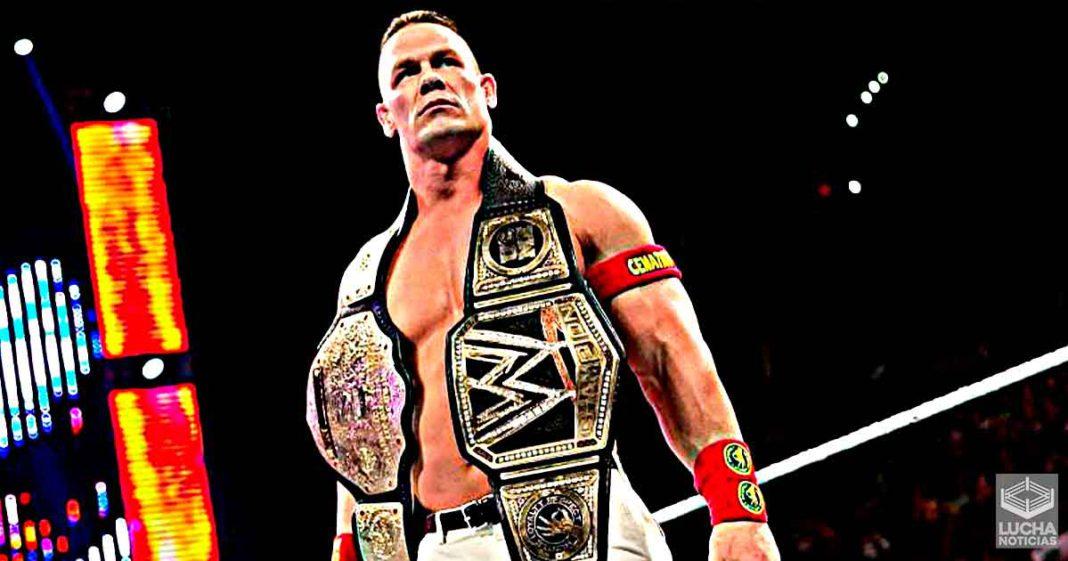 Superestrella de WWE da credito a John Cena por enseñarle a ser campeón de WWE
