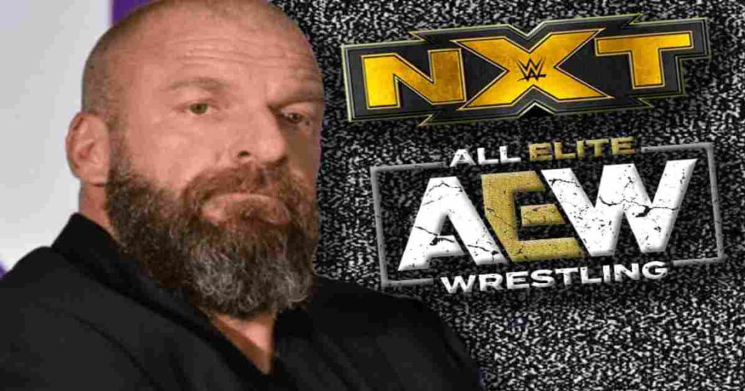 Triple H dice que la guerra de los miercoles entre AEW contra NXT era imaginaria