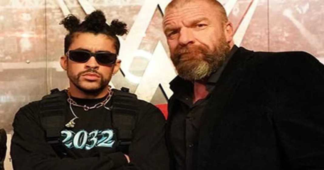 Triple H le manda un mensaje directo a los detractores Bad Bunny