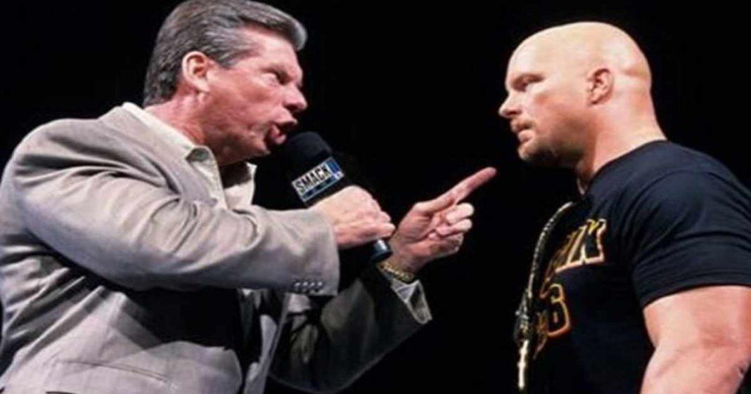 Vince McMahon pensó inicialmente que Steve Austin era una pérdida de tiempo