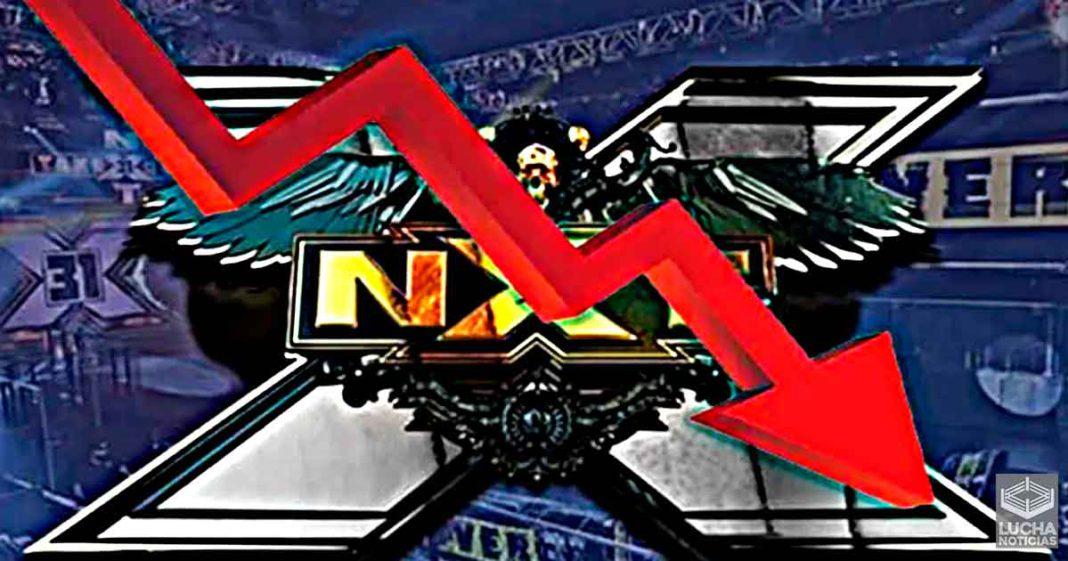 WWE NXT pierde audiencia esta semana sin competir con AEW