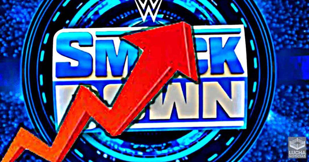 WWE SmackDown aumenta sus ratings en el episodio previo a WrestleMania