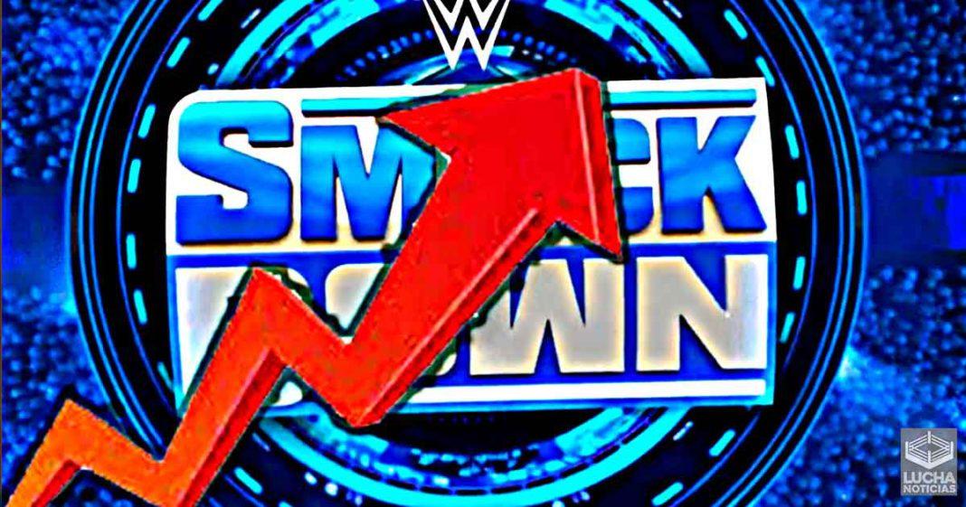 WWE SmackDown aumenta sus ratings esta semana