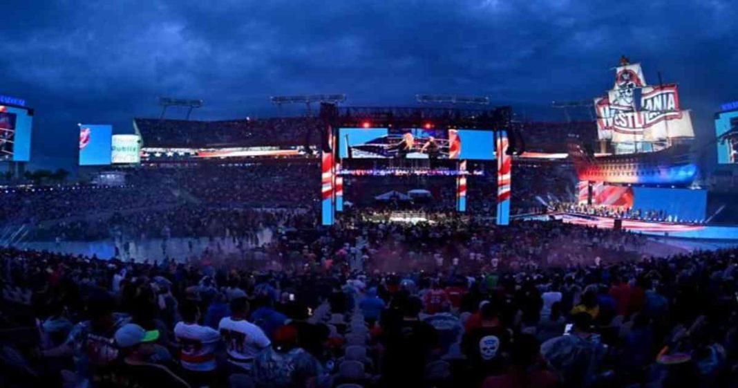 WWE anuncia que tuvieron una asistencia redonda en la noche uno de WrestleMania 37