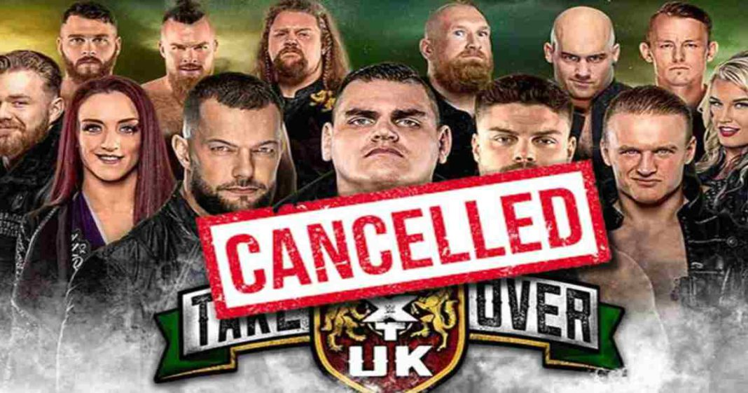 WWE cancela el evento de NXT UK TakeOver: Dublin