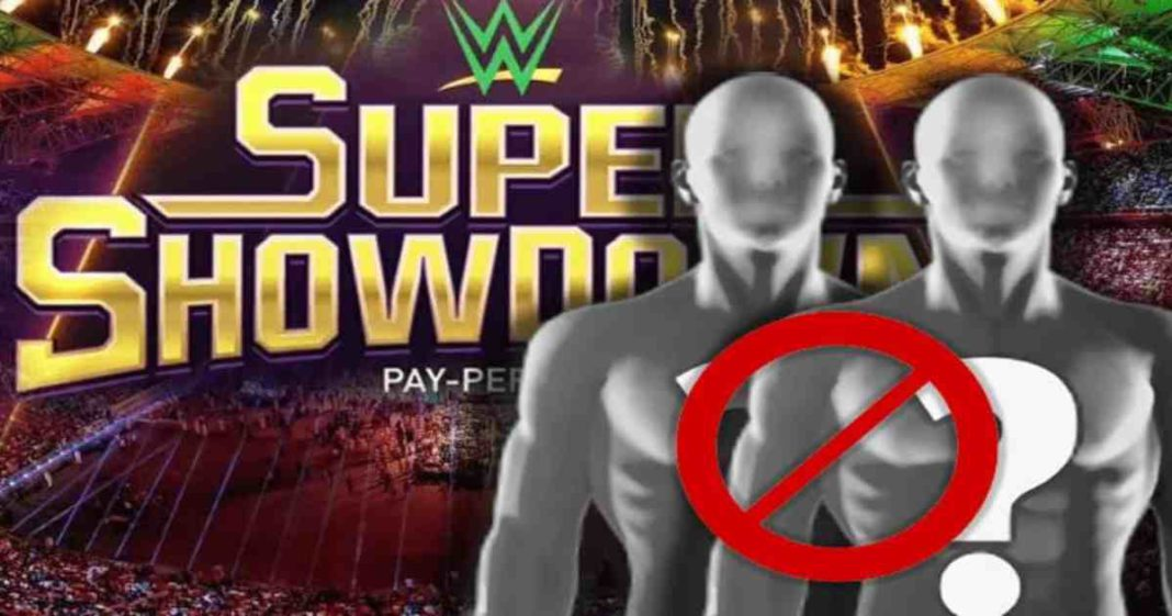WWE canceló una lucha muy interesante para Arabia Saudita