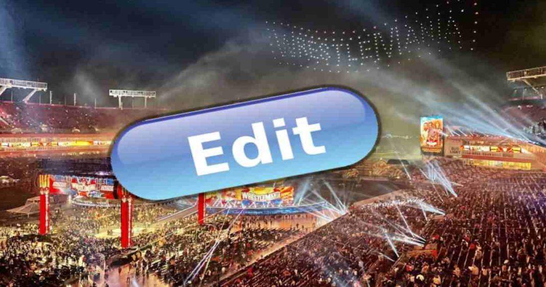 WWE elimina momentos destacables de WrestleMania 37 en las repeticiones