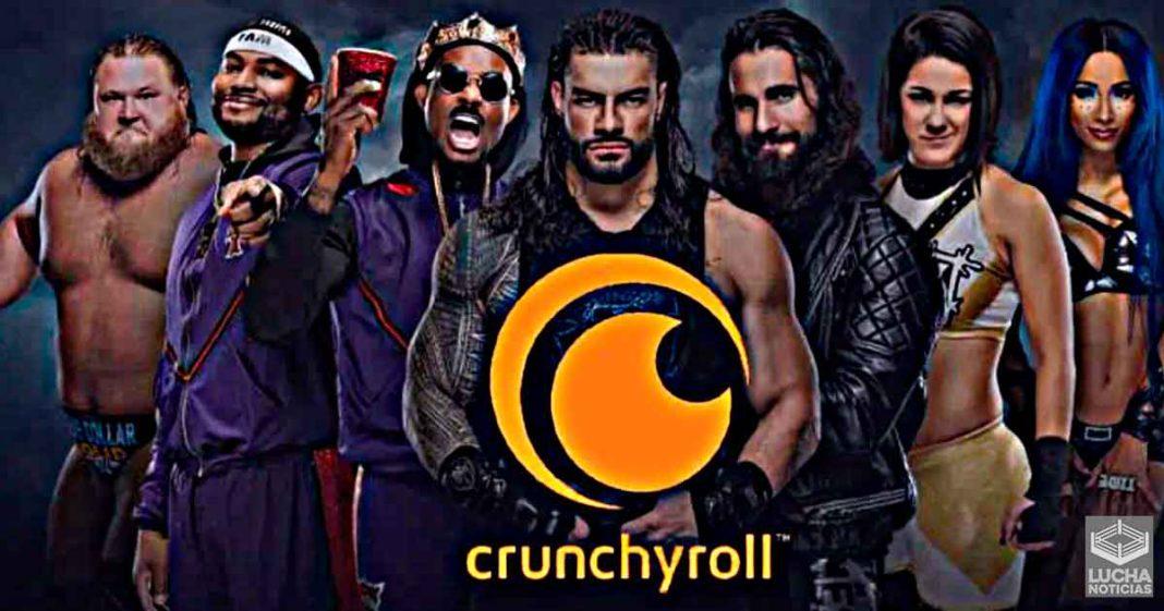 WWE está desarollando una serie de anime con Crunchyroll