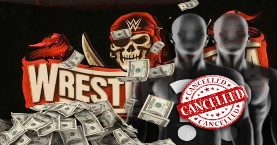 WWE está ganando dinero por vender mercancia de una lucha callejera de WrestleMania 37