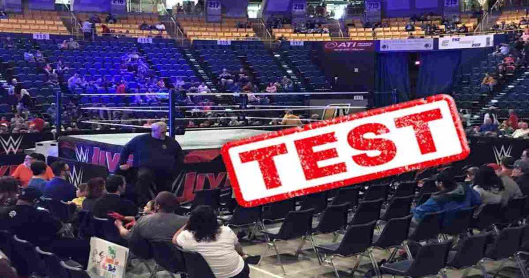 WWE está preparando eventos de prueba para traer de regreso a los fans
