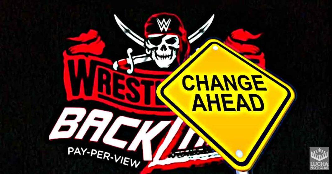 WWE hace gran cambio al evento estelar de WrestleMania Backlash
