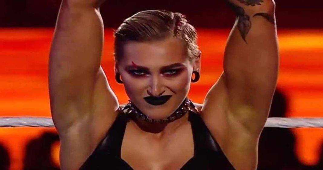 WWE le pide a los fans virtuales que tenga esta interesante reacción con Rhea Ripley