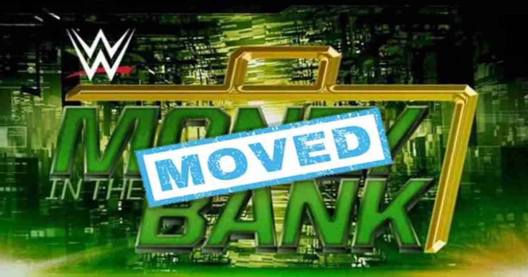 WWE movio la fecha para el PPV Money In The Bank 2021