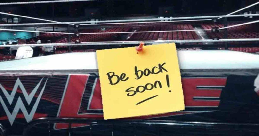 WWE se está preparando para retomar las giras a tiempo completo