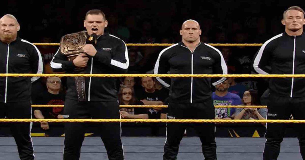 WWE tiene grandes planes para IMPERIUM