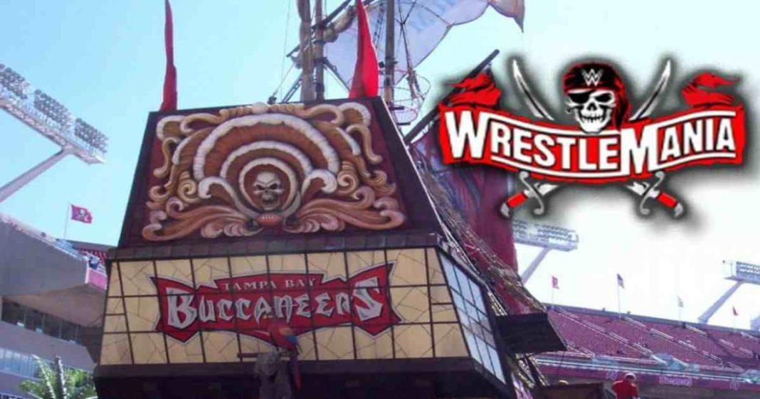 ¿Porqué no se hizo el spot de barco pirata en WrestleMania 37_