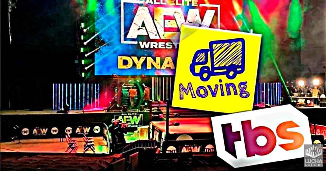 AEW Dynamite se trasladará a TBS en el 2022