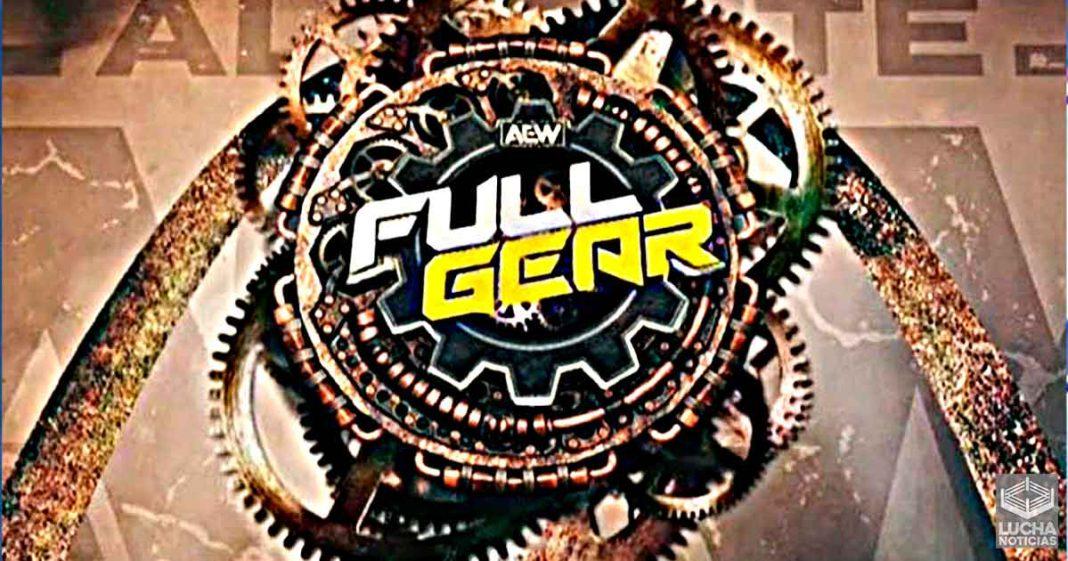 AEW confirma la fecha y el lugar de su evento Full Gear