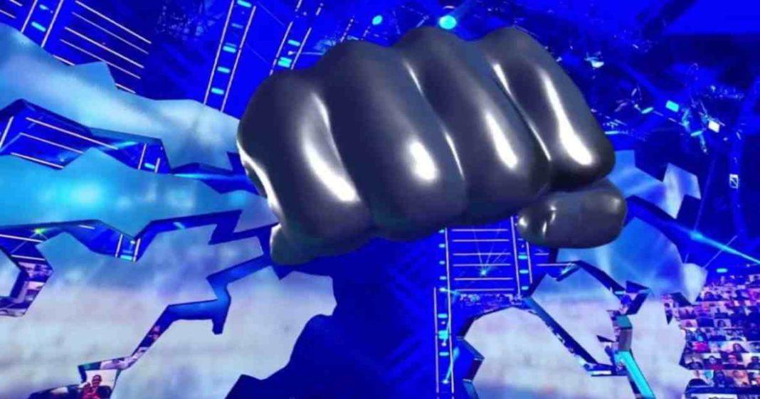 Aficionados molestos de que no estuviera el famoso puño en el episodio retro de SmackDown