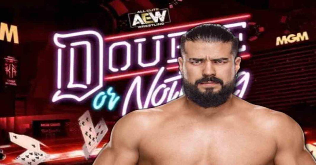 Andrade podría debutar en AEW durante Double or Nothing