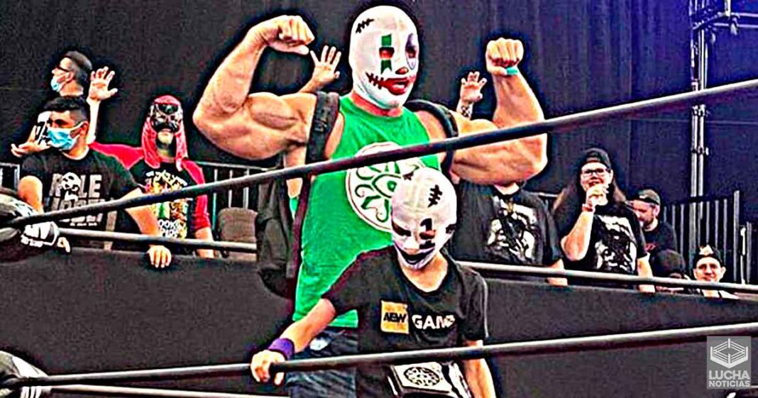 Brodie Lee Jr. se convierte en el campeón de Dark Order