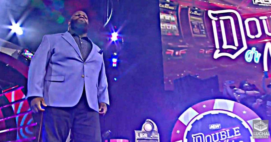 Detalles sobre la firma de AEW del miembro del Salón de la Fama de la WWE Mark Henry