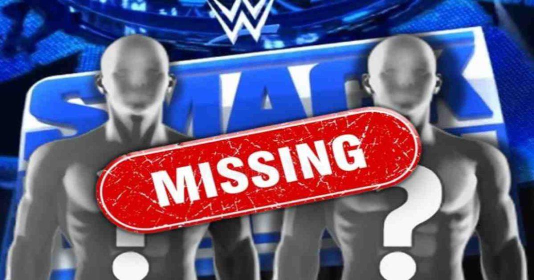 Faltaron jugadores claves en backstage para la edición retro de SmackDown