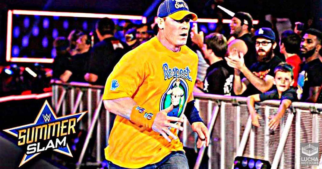 Grandes planes de WWE para el evento estelar de SummerSlam que involucra a John Cena