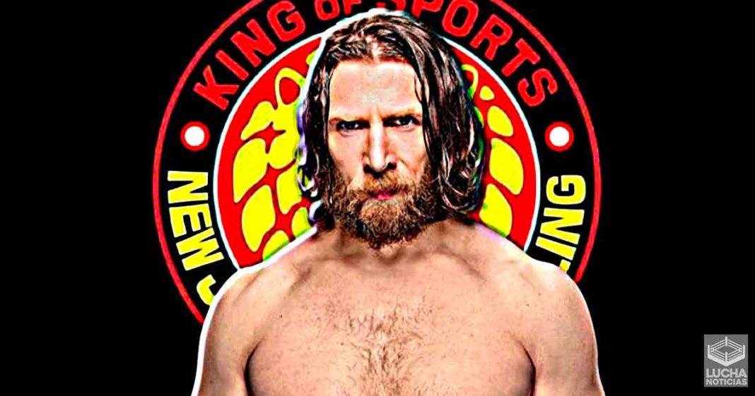 Las platicas entre WWE y NJPW iniciaron por Daniel Bryan