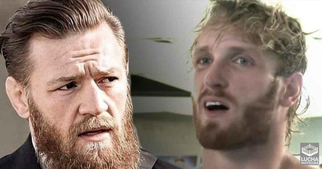 Logan Paul dice que puede ganarle a Connor McGregor en un sparring