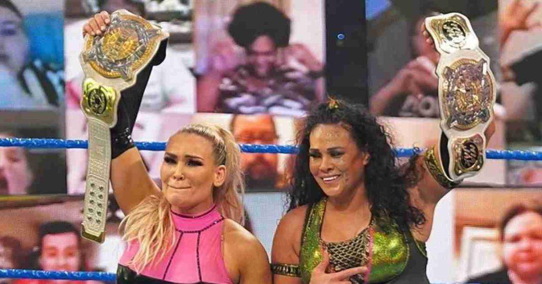 Natalya y Tamina son las nuevas campeonas femeninas en parejas de la WWE