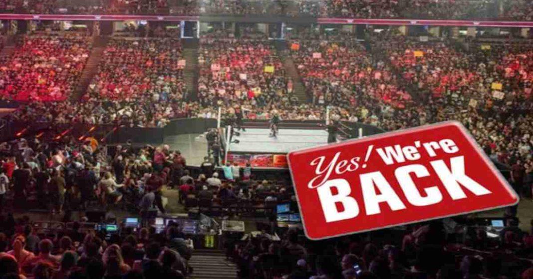 Oficial: WWE vuelve a las giras a partir del 16 de julio