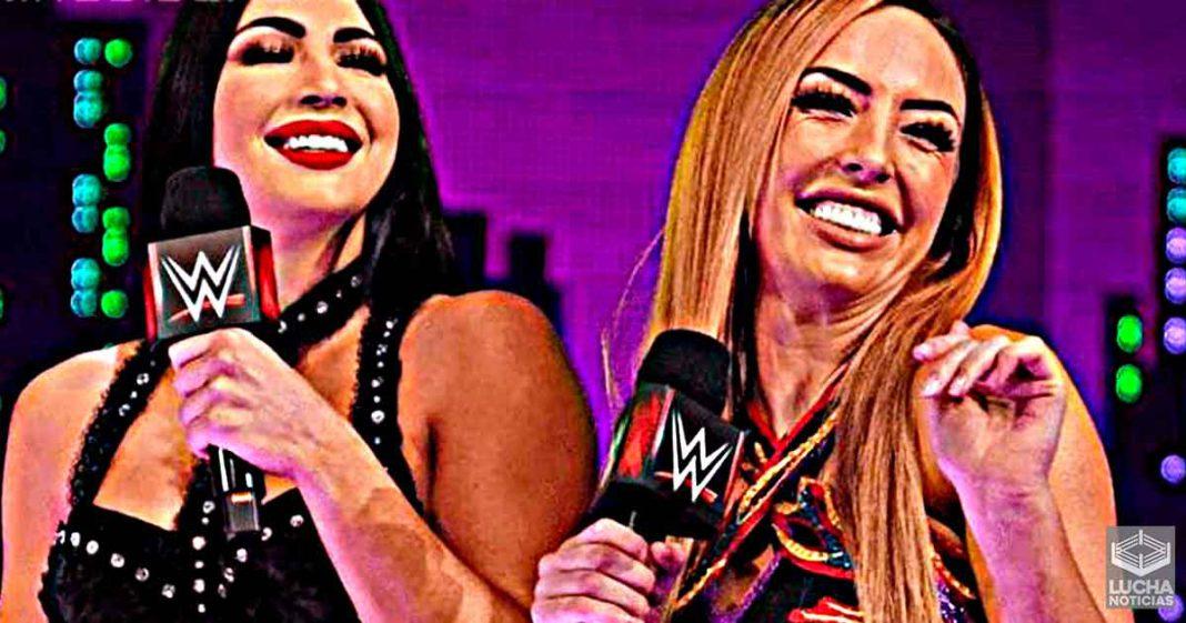 Peyton Royce y Billie Kay decidiendo si entrar a AEW o Impact Wrestling