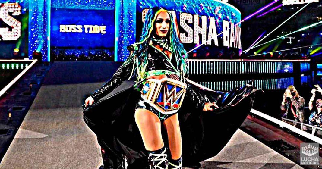 Planes cancelados para que Sasha Banks enfrente superestrella Veterana de WWE revelados
