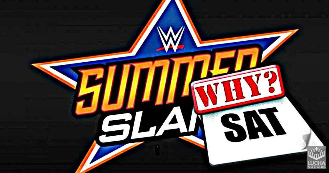 Por qué WWE programa SummerSlam en sábado