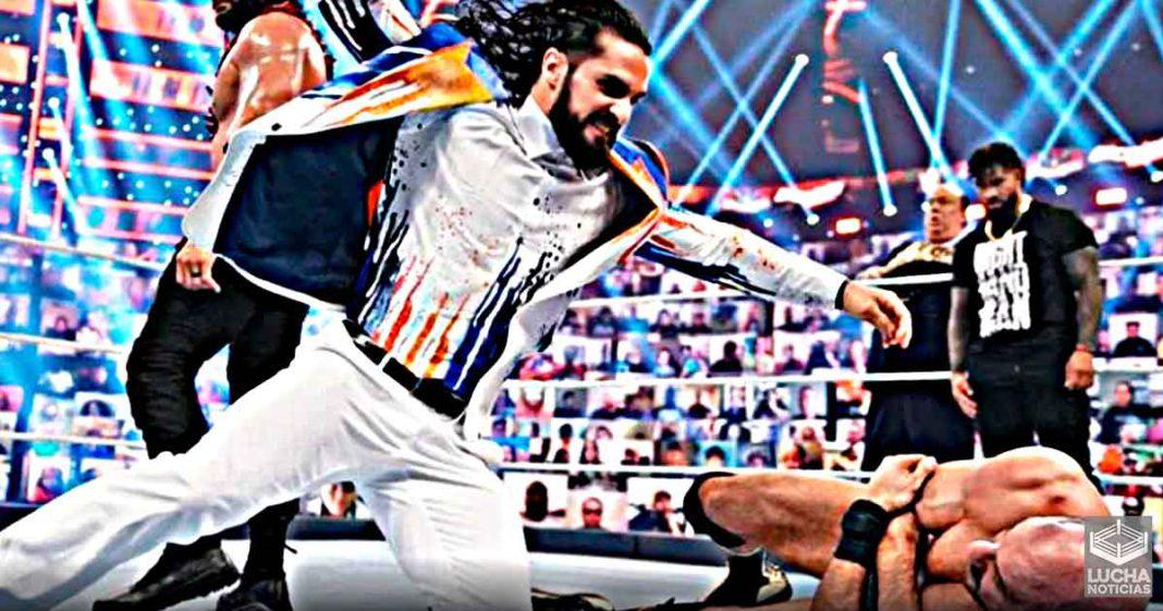 Razón por la cual Seth Rollins atacó a Cesaro en WrestleMania Backlash