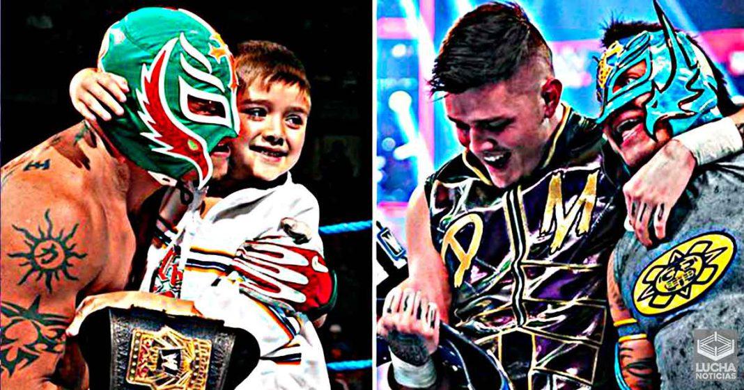 Rey Mysterio revela que Dominik tuvo la oferta de rechazar una gran lucha de la WWE