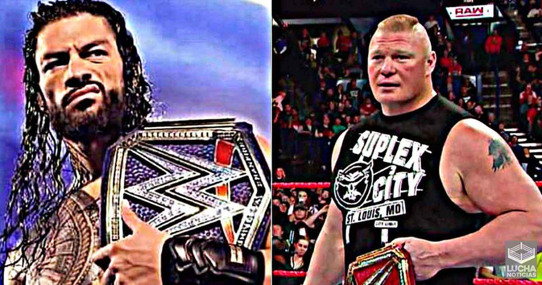 Roman Reigns compara su reinado como Campeonato Universal con el de Brock Lesnar