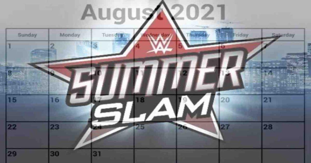 Se revela la fecha para el PPV WWE SummerSlam 2021