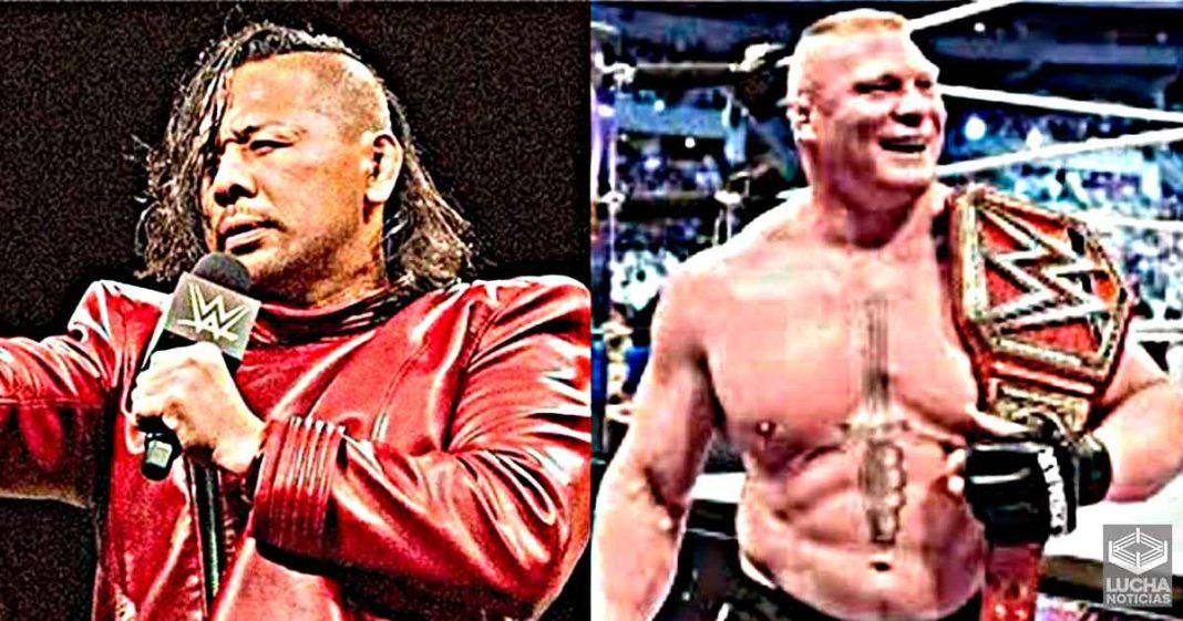 Shinsuke Nakamura acusa a Brock Lesnar de actitud poco profesional en NJPW