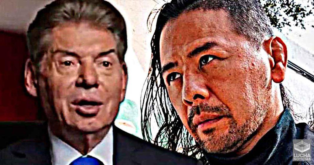 Shinsuke Nakamura asegura que no le da ideas creativas a Vince McMahon