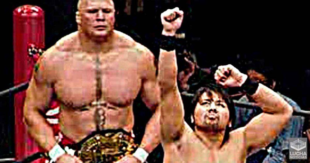 Shinsuke Nakamura está listo para su esperada revancha con Brock Lesnar