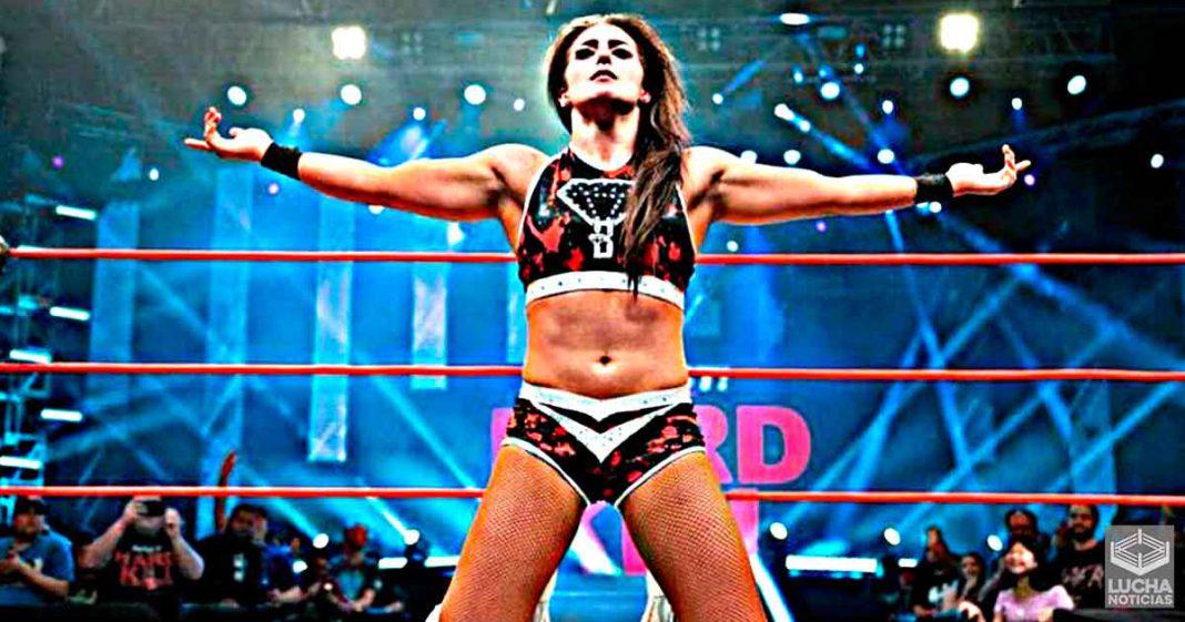 Tessa Blanchard entrena con ex luchadores de la WWE