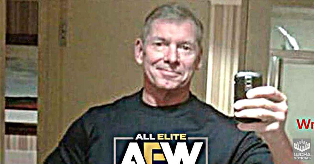 Vince McMahon no está preocupado o angustiado por su rival AEW